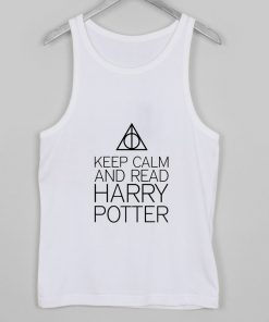 Keep Calm And Read Harry Potter tanktop