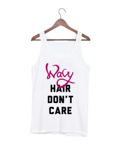 Wavy hair dont care tanktop