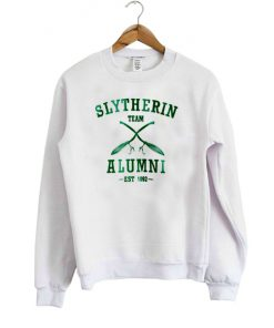 slytherin team alumni est 1092 sweatshirt