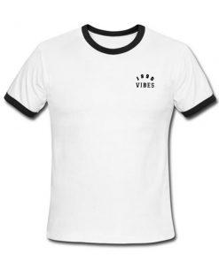 1990 Vibes ringer shirt