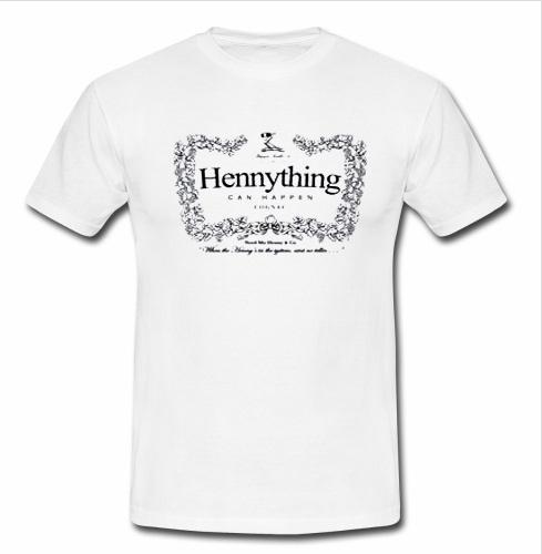 Can Shirt Happen Hennything T Cognac 0OPknw