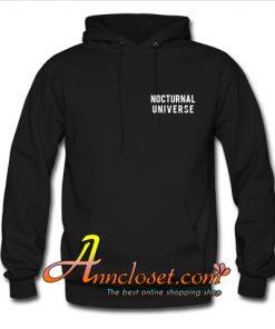 Nocturnal universe Hoodie