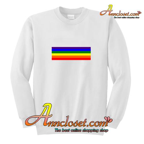 Rainbow 70's Sweatshirt