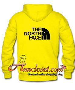 The North Face Hoodie back