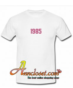 1985 Font T-Shirt