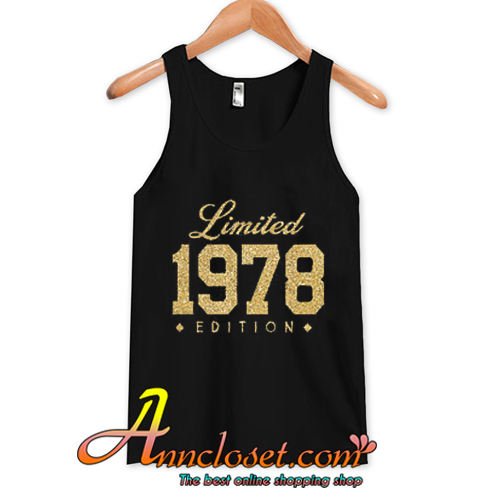 1978 Gold Glitter Limited Edition 40th Birthday Party Shirt Years Old 40