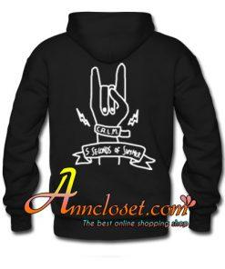 5Sos Punk Rock Hand Symbol hoodie