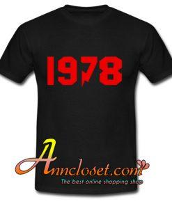 1978 tshirt