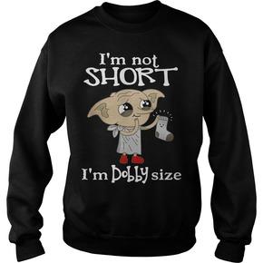I'm not short I'm Dobby size Christmas sweater