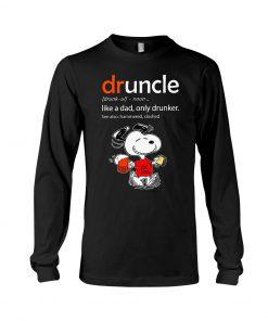 Snoopy Druncle Shirt