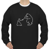 bear fight Sweatshirt