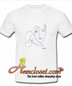 Pablo Picasso Dove and Face T-Shirt At