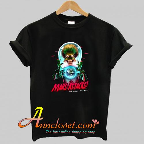 Mars Atacks Poster Trending T-Shirt At