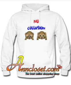 NO COLLUSION Monkey Hoodie At