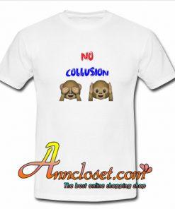 NO COLLUSION Monkey T shirt At