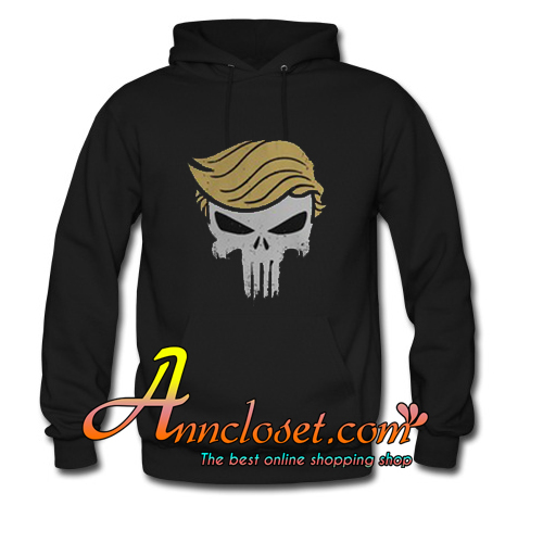 The Punisher skull Trump Hoodie At