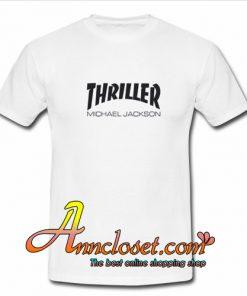 Thriller Michael Jackson Thrasher T-Shirt At