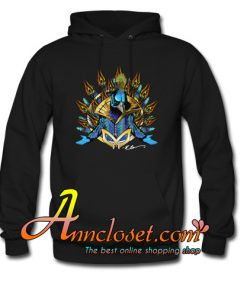 The Masked Peacock Hoodie At