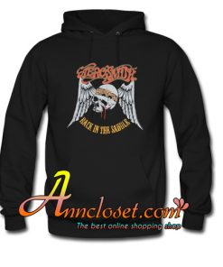 Aerosmith Back In The Saddle Hoodie At