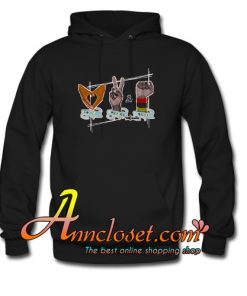 African American Love Peace & Soul Sign Hoodie At