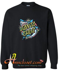 Santa Cruz Shark Dot Sweatshirt At