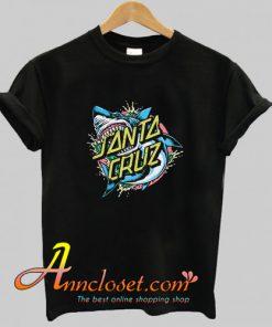 Santa Cruz Shark Dot T Shirt At
