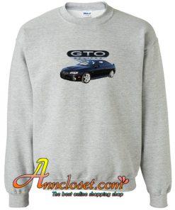 2006 black Pontiac GTO Crewneck Sweatshirt At