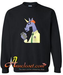 Accountant Unicorn Crewneck Sweatshirt At