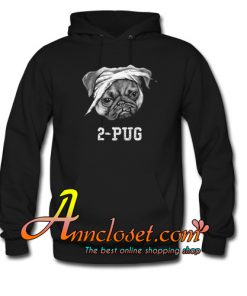 2-Pug Hoodie At