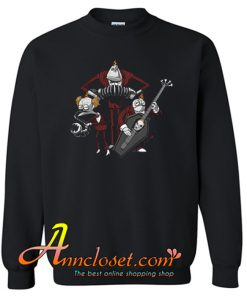 Jack Skellington in Music Sweatshirt At