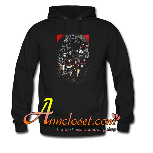 Marvel Avengers Endgame Poster Character Signature Hoodie At