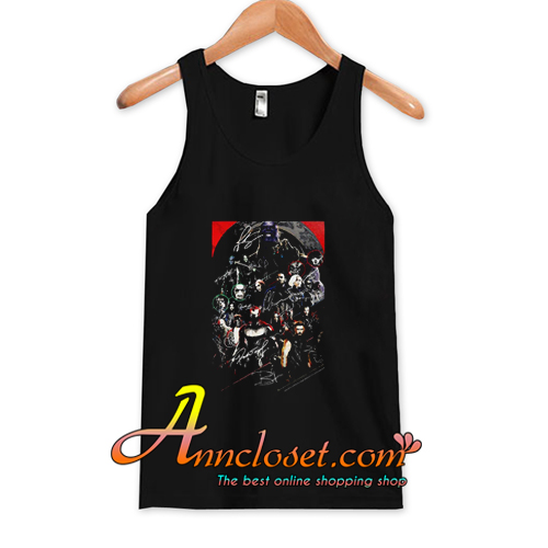 Marvel Avengers Endgame Poster Character Signature Tank Top At
