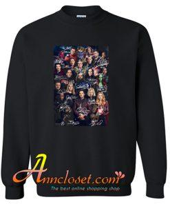 Marvel Avengers Endgame Poster Signature Sweatshirt At