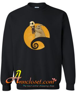 Oogie Boogie Raise Up Jack Skellinton Sweatshirt At