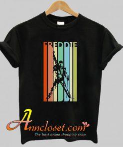 Retro Freddie Mercury T-Shirt At