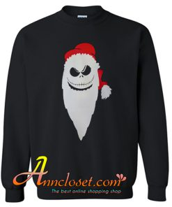 Santa Skeleton Christmas Sweatshirt At