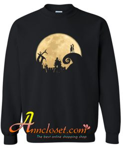 The Jack Skellington Moon Sweatshirt At
