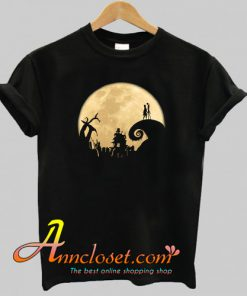 The Jack Skellington Moon T-Shirt At