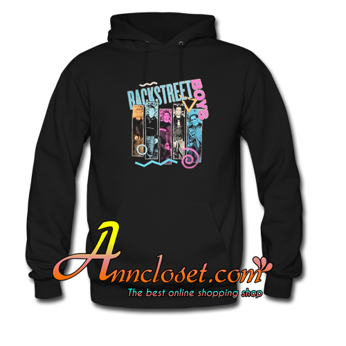 Backstreet Boys 90s Bar Hoodie At