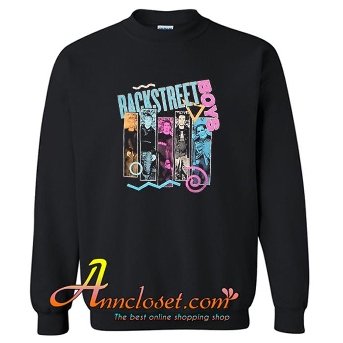 Backstreet Boys 90s Bar Sweatshirt At