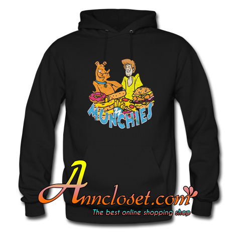 Scooby-Doo and Shaggy Munchies Hoodie At