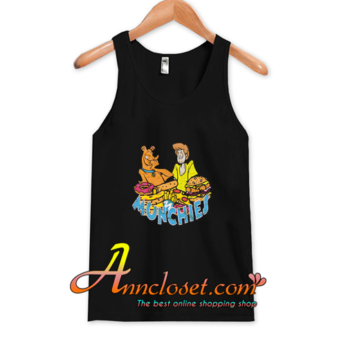 Scooby-Doo and Shaggy Munchies Tank Top At
