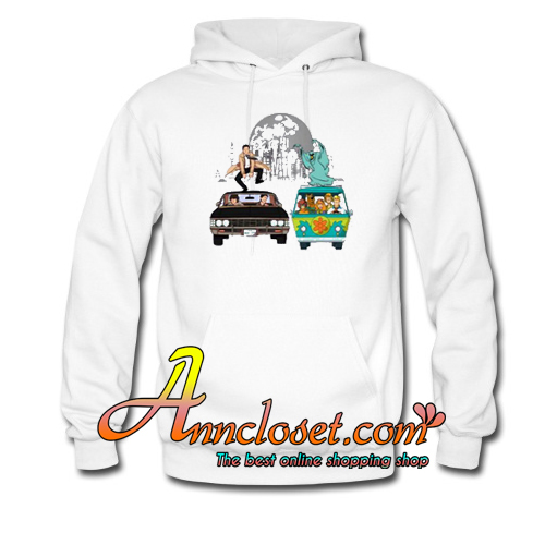 Scooby Supernatural Mystery Machine Hoodie At