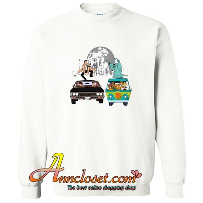 Scooby Supernatural Mystery Machine Sweatshirt At
