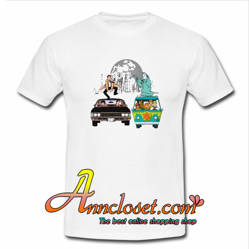 Scooby Supernatural Mystery Machine T-Shirt At