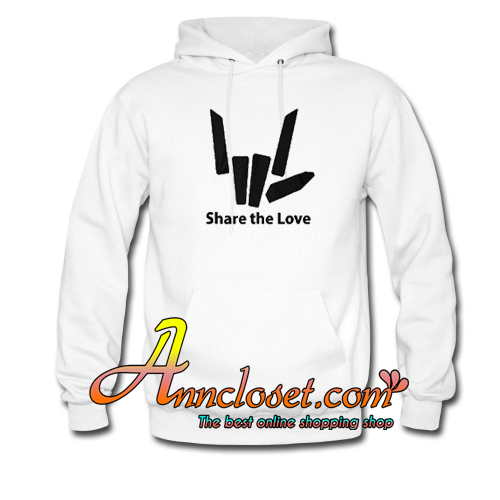 Share The Love Hoodie At