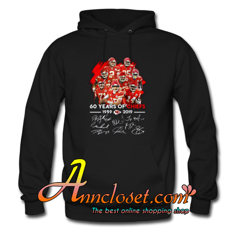 60 Years of Chiefs Signatures Hoodie At
