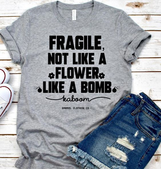 FRAGILE TEE T-Shirt At