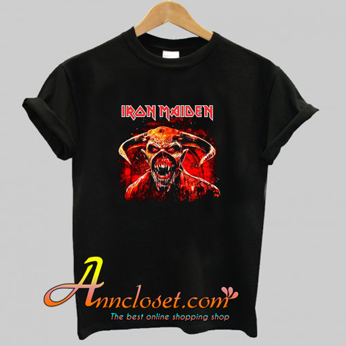 Iron Maiden Legacy Of The Beast 2019 Tour T-Shirt At