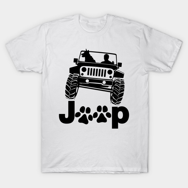 Jeep Dog Canine T-Shirt At